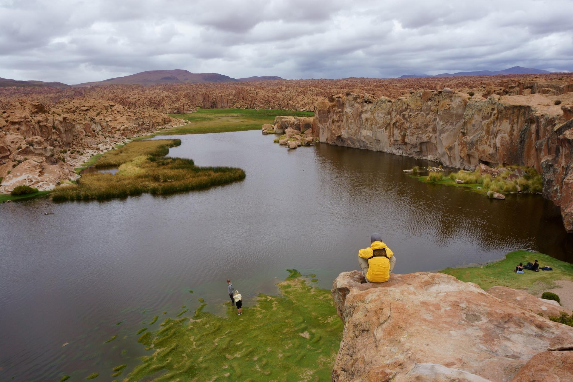 チリ ボリビア ウユニ旅行 2泊3日ツアー 高台