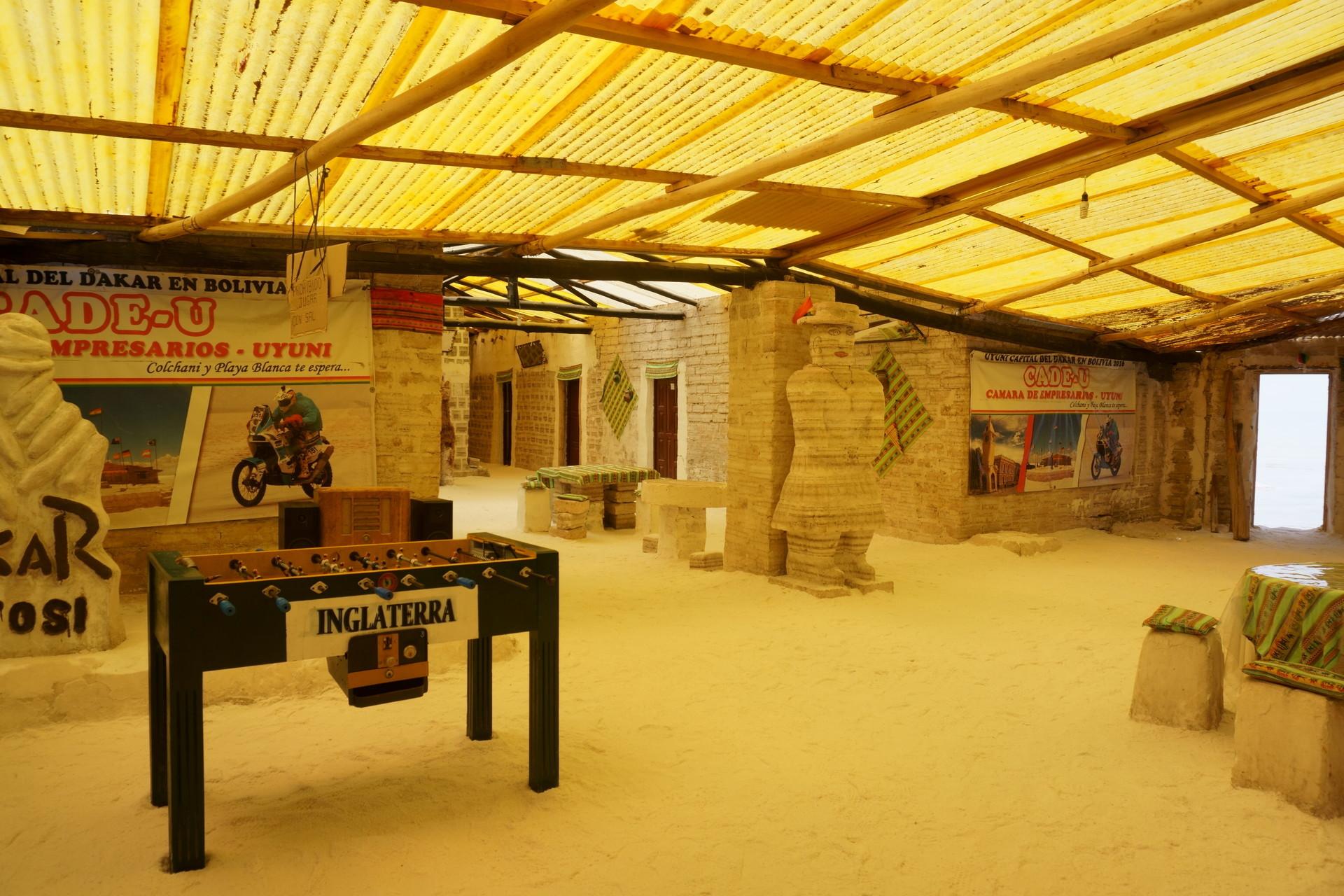 チリ ボリビア ウユニ旅行 2泊3日ツアー HOTEL PLAYA BLANCA