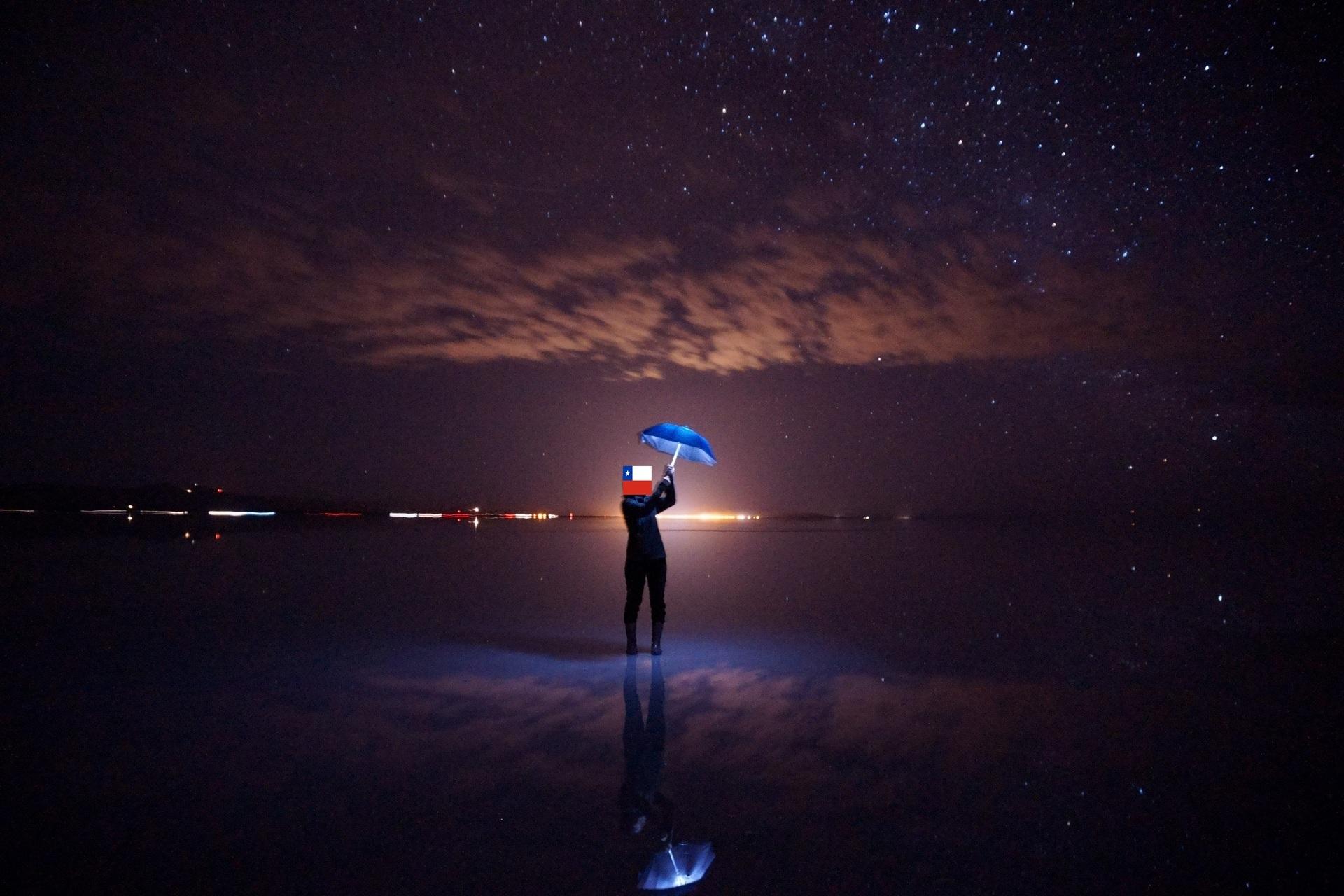 ボリビア ウユニ塩湖 サンセットサンライズ 集光ライト