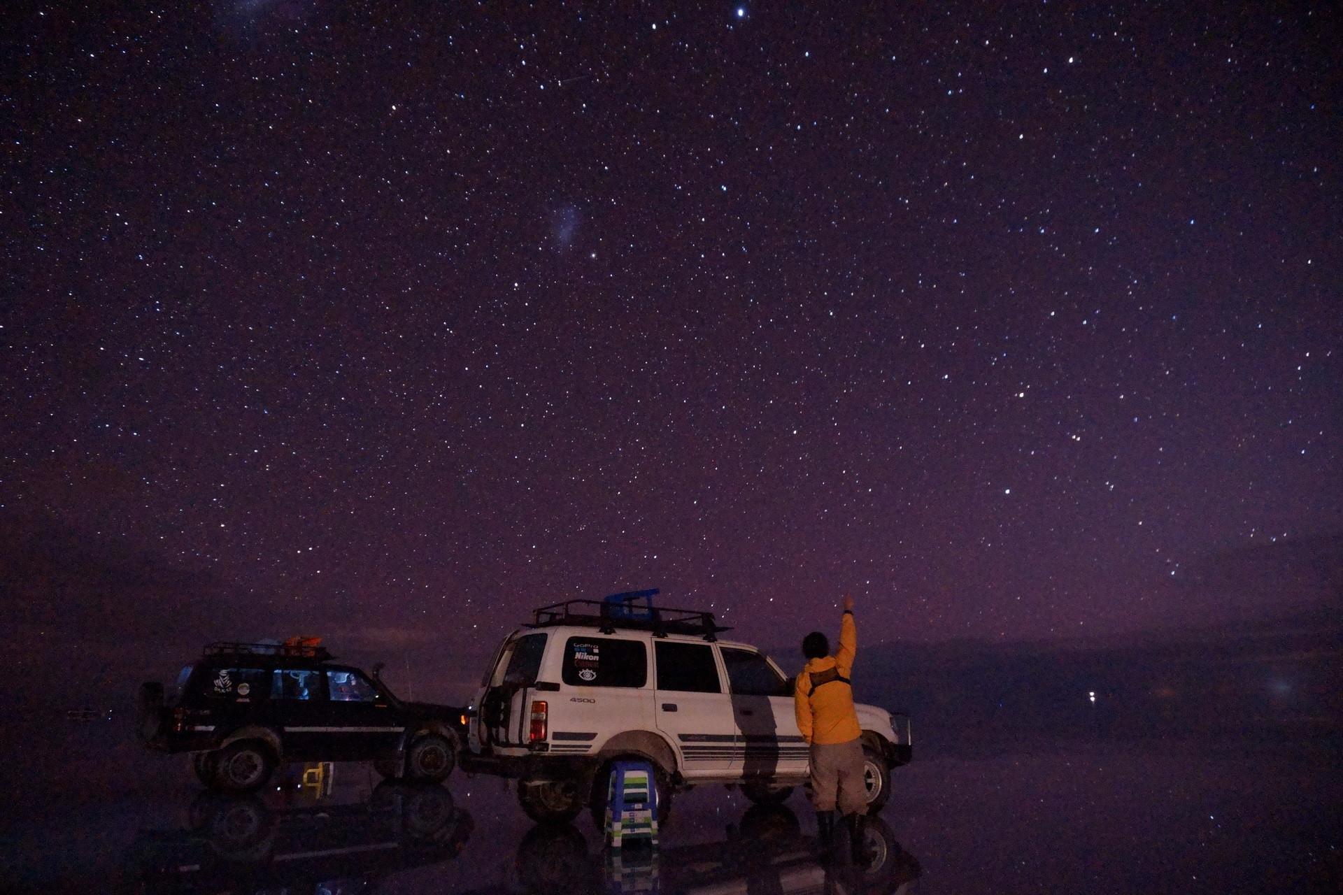 ボリビア ウユニ塩湖 サンセットサンライズ 立山科学グループ