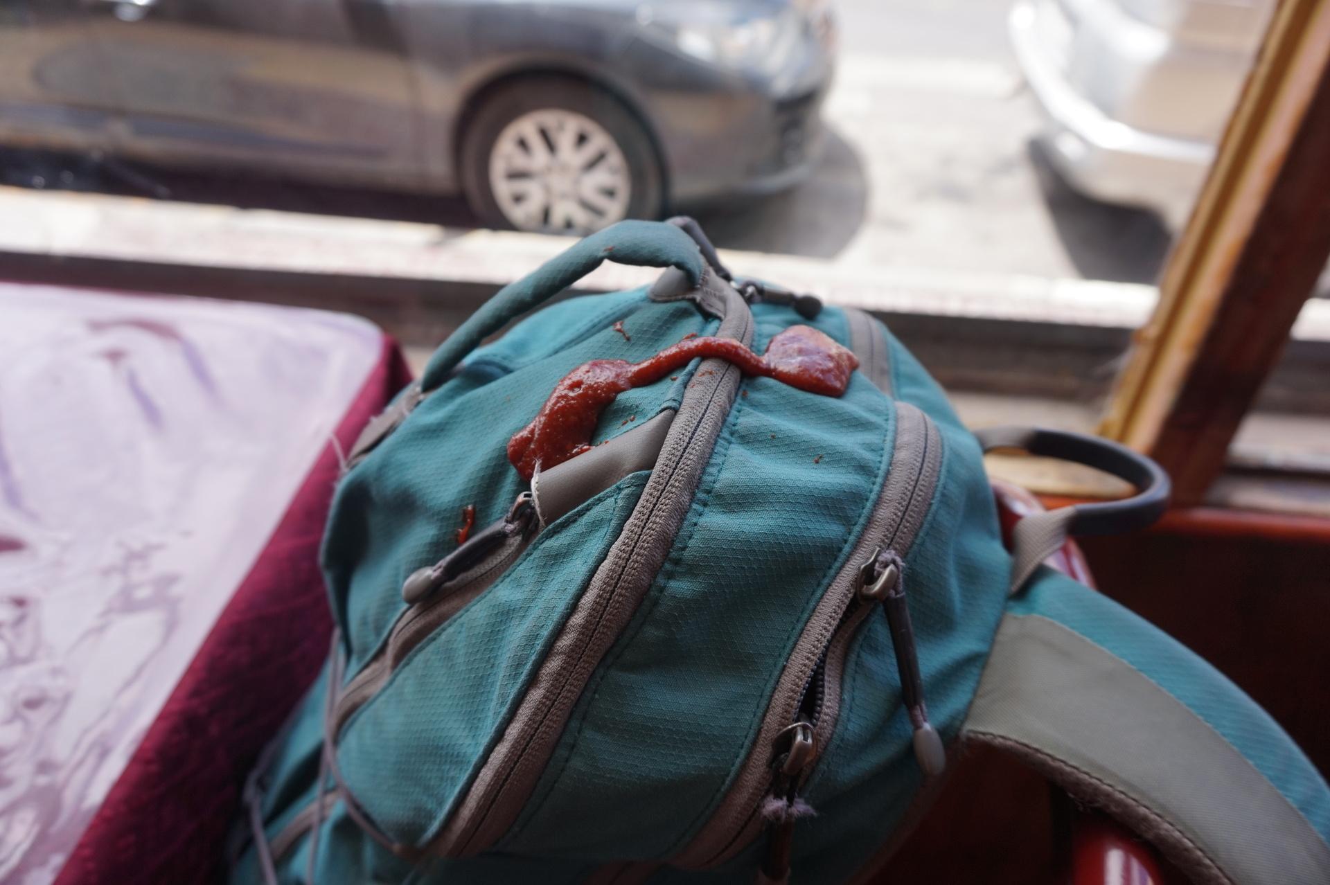 チリ ボリビア ウユニ旅行 カラマ サルサ ケチャップ 鞄