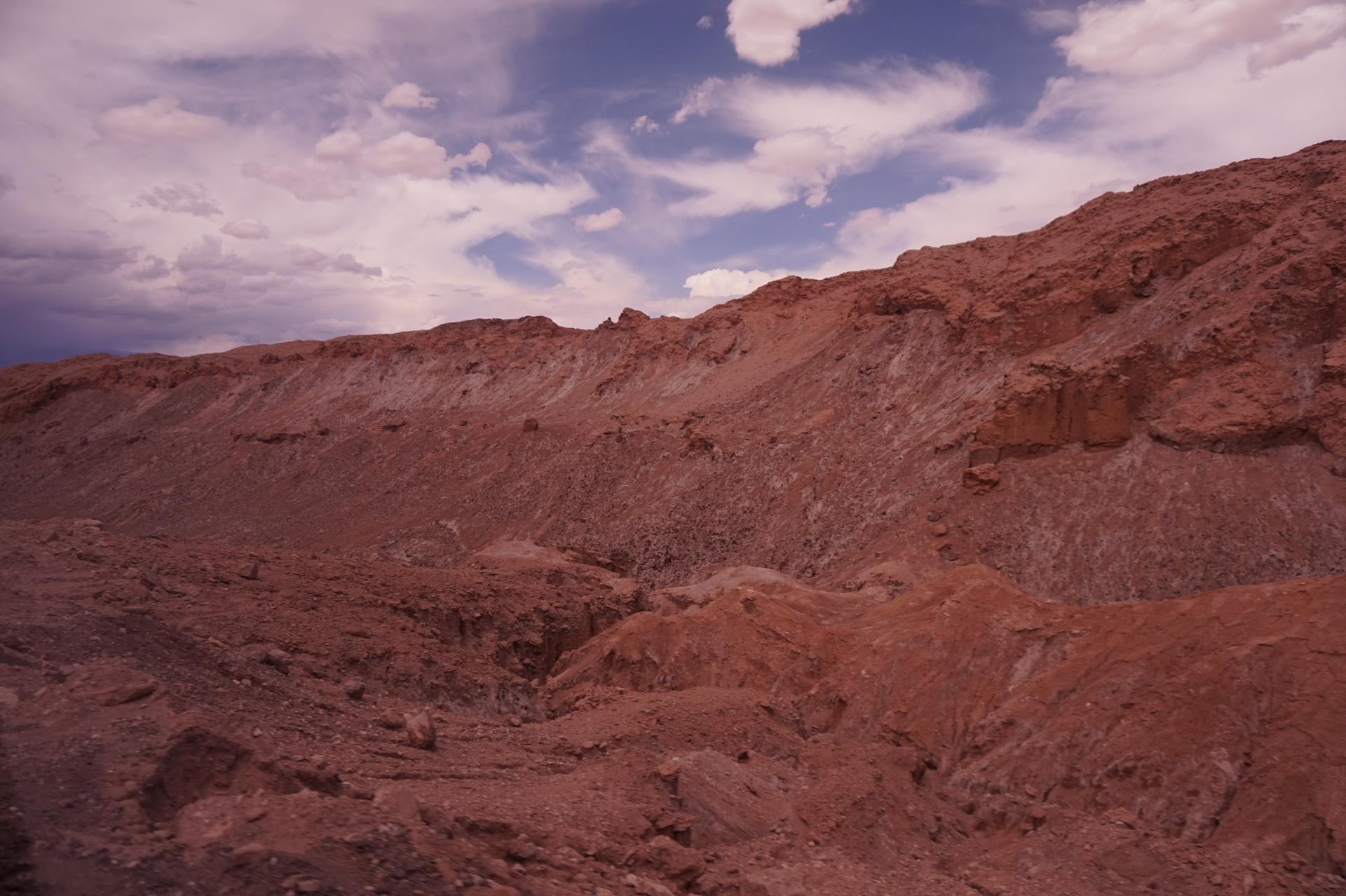 チリ ボリビア ウユニ旅行 アタカマ 景色