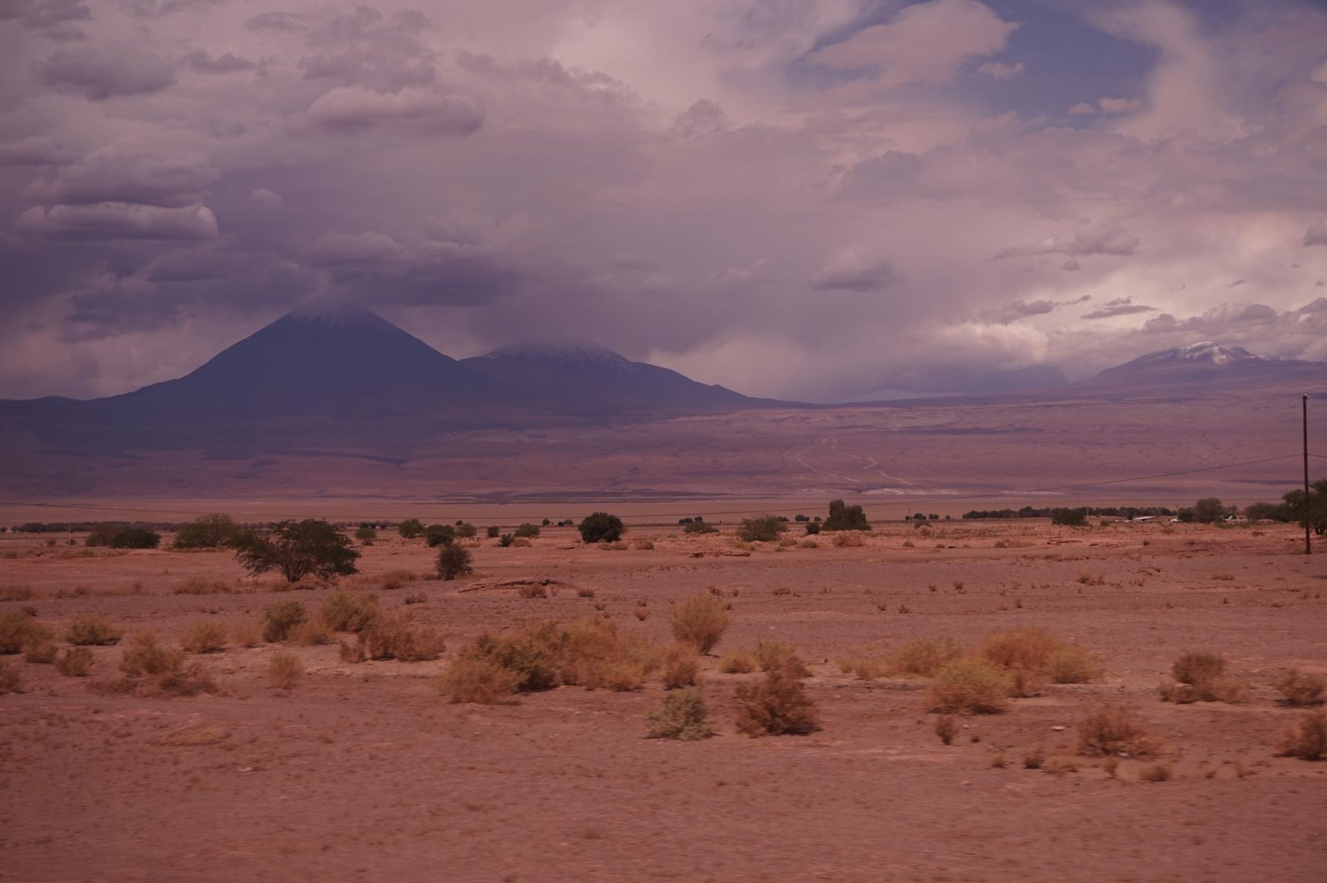 チリ ボリビア ウユニ旅行 アタカマ 景色 不毛