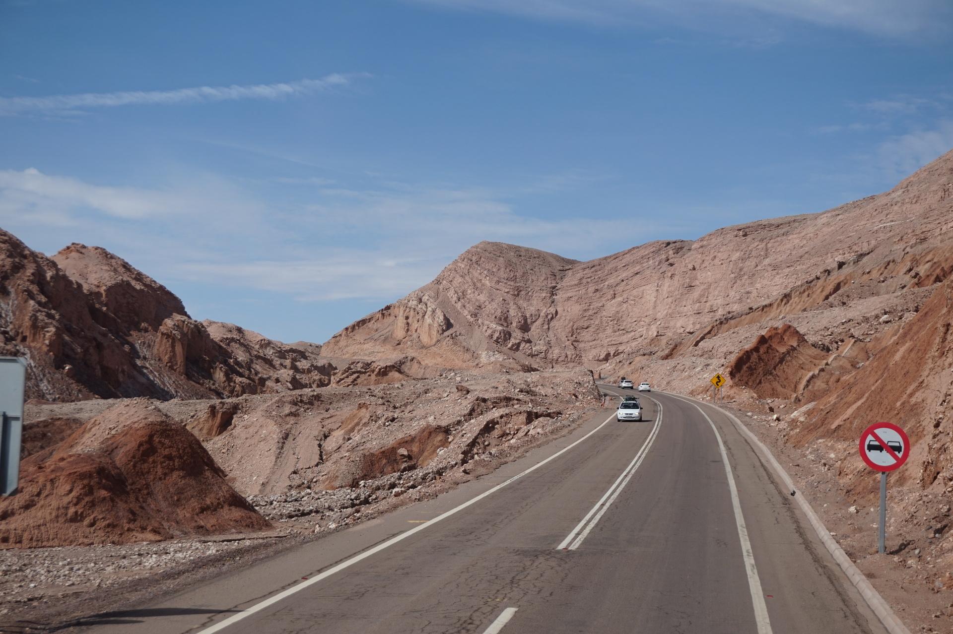 チリ ボリビア ウユニ旅行 アタカマ 岩、山、砂