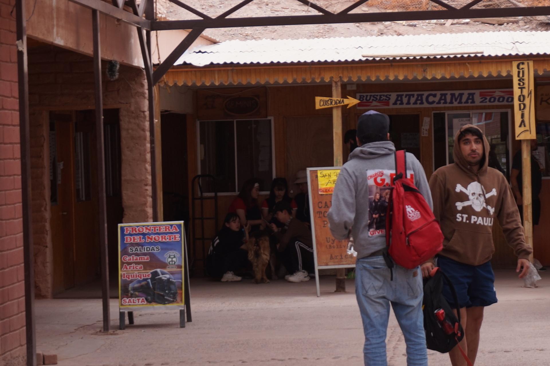 チリ ボリビア ウユニ旅行 アタカマ バス会社