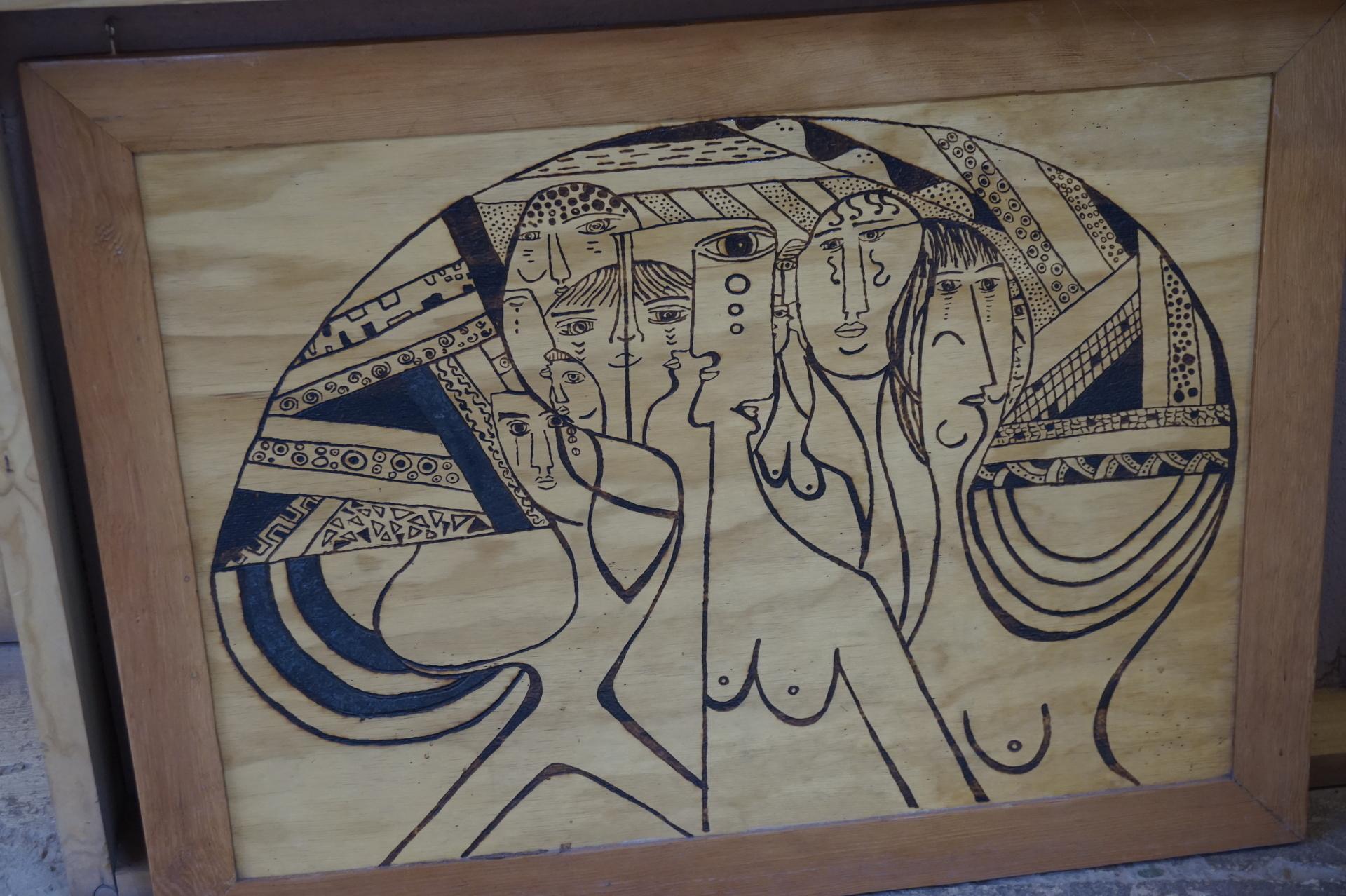 チリ ボリビア ウユニ旅行 アタカマ 絵画