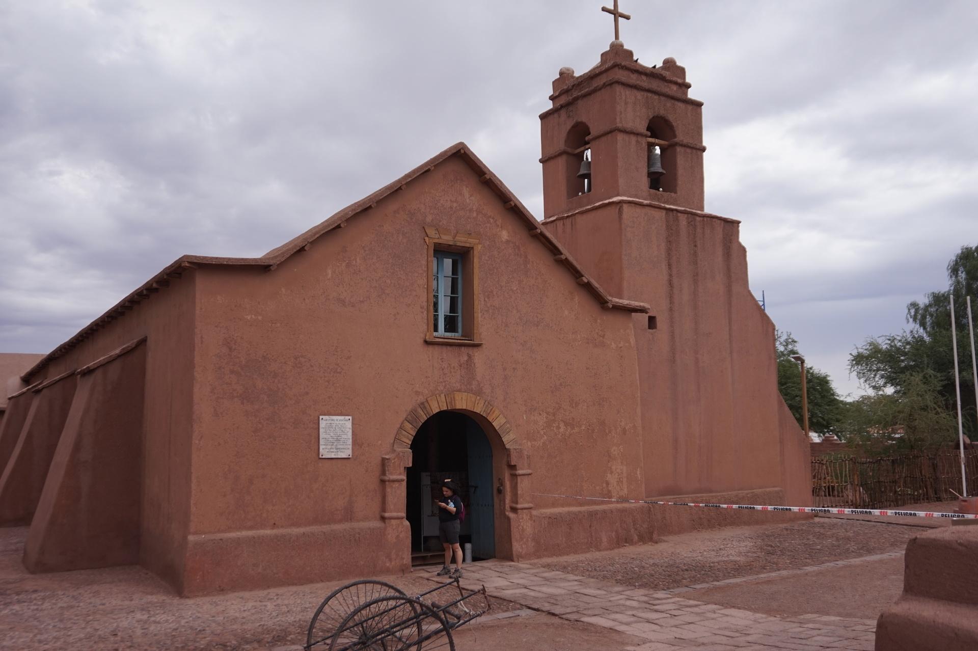 チリ ボリビア ウユニ旅行 アタカマ 教会