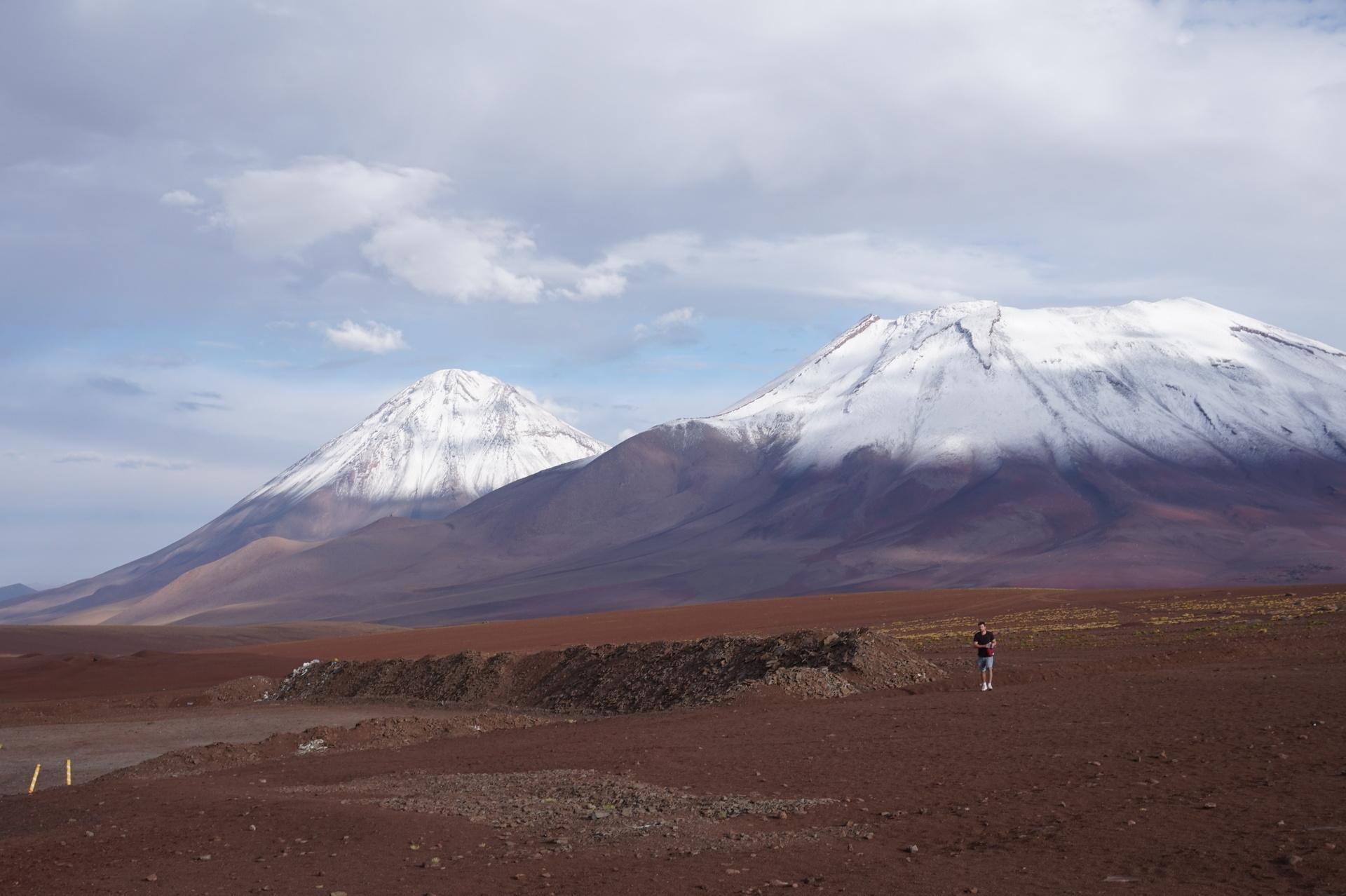チリ ボリビア ウユニ旅行 2泊3日ツアー 国境付近