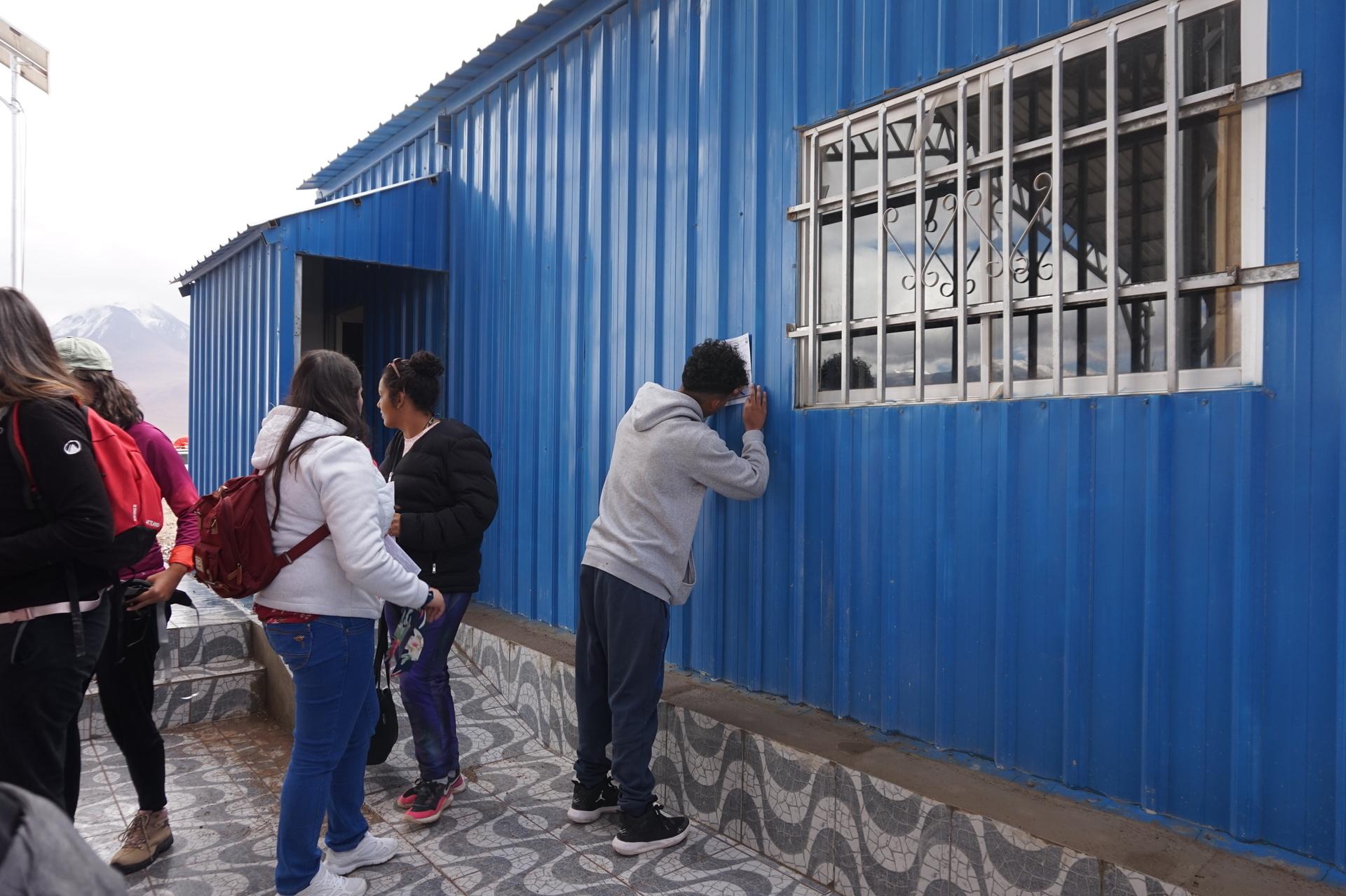 チリ ボリビア ウユニ旅行 2泊3日ツアー 書類記入