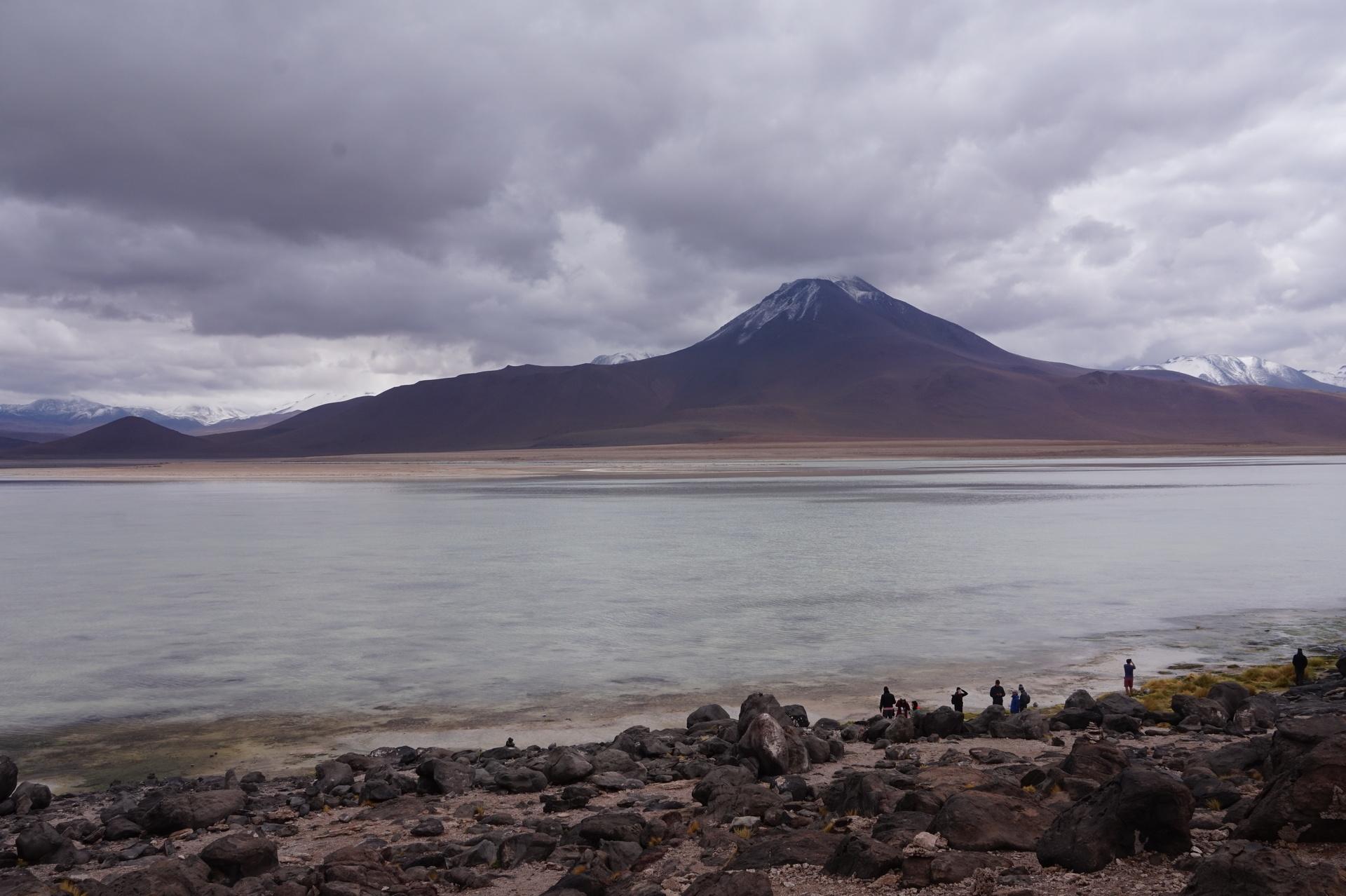 チリ ボリビア ウユニ旅行 2泊3日ツアー 白い湖1