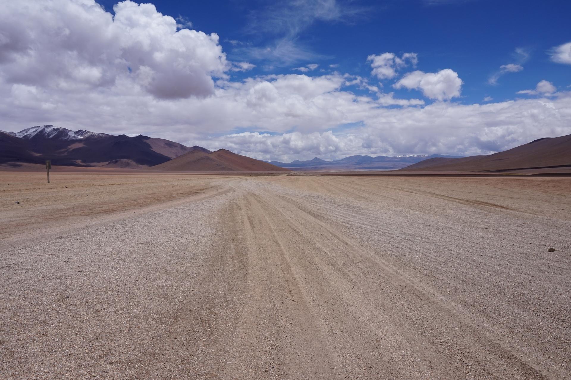 チリ ボリビア ウユニ旅行 2泊3日ツアー ダリ砂漠