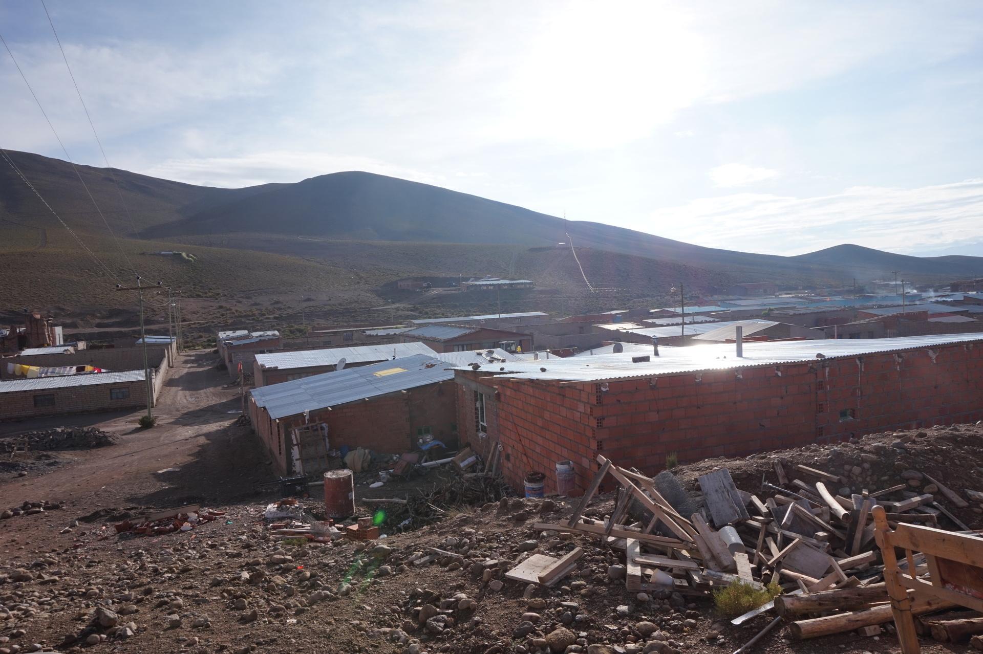 チリ ボリビア ウユニ旅行 2泊3日ツアー 屋根