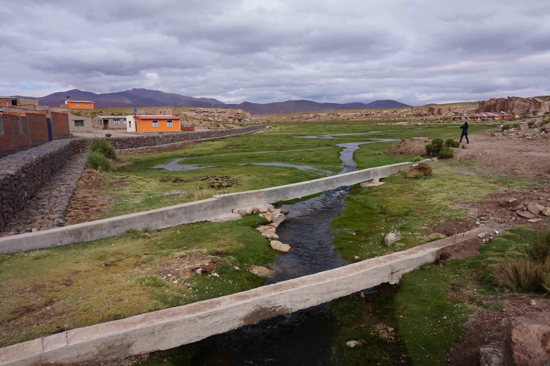 チリ ボリビア ウユニ旅行 2泊3日ツアー 湿地帯