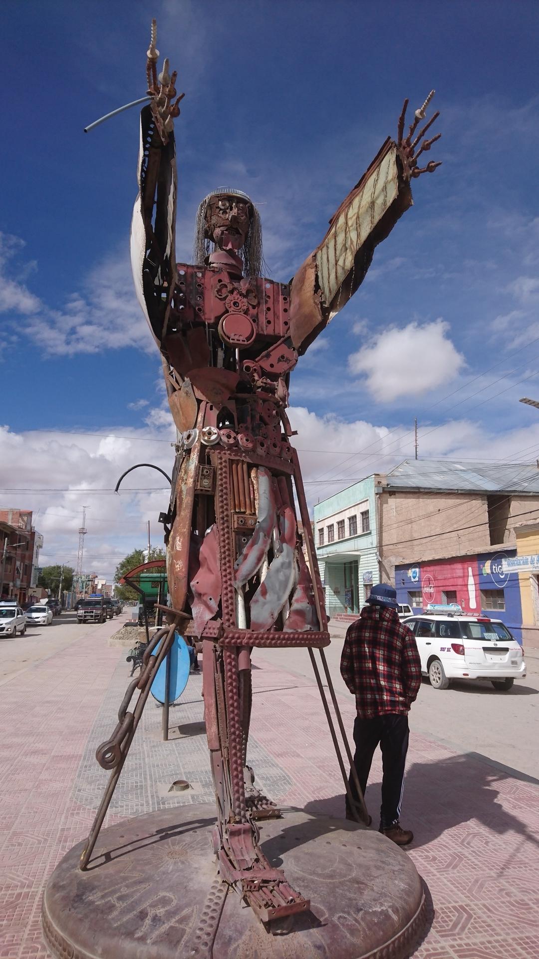チリ ボリビア 旅行 ウユニ 街歩き オブジェB